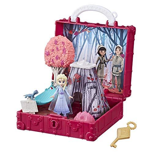 アナと雪の女王 アナ雪 ディズニープリンセス フローズン 【送料無料】Disney Frozen Pop Adventures Enchanted Forest Set Pop-Up Playset with Handle, Including Elsa Doll, Toy Inspired by Disney's アナと雪の女王 アナ雪 ディズニープリンセス フローズン