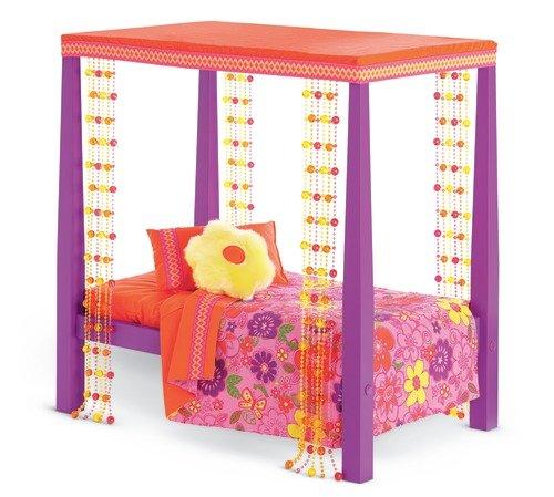 アメリカンガールドール 赤ちゃん おままごと ベビー人形 【送料無料】American Girl Julie's Bed and Beddingアメリカンガールドール 赤ちゃん おままごと ベビー人形