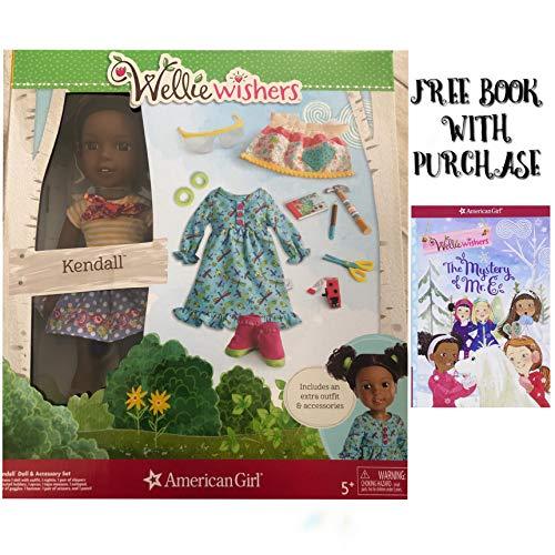 アメリカンガールドール 赤ちゃん おままごと ベビー人形 【送料無料】American Girl WellieWishers Doll & Accessory Set (Free Book with Purchase) (Kendall)アメリカンガールドール 赤ちゃん おままごと ベビー人形