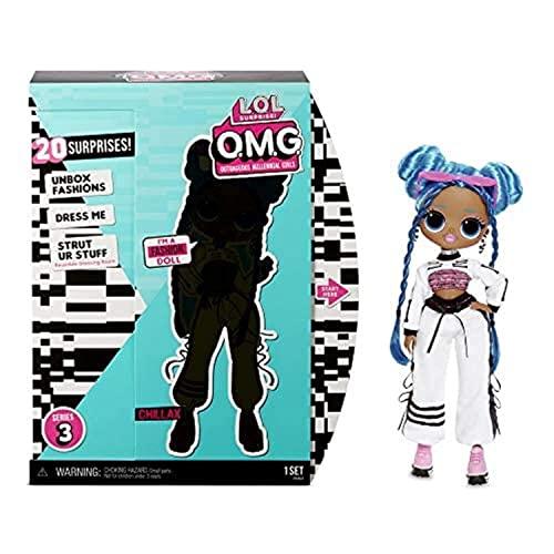 エルオーエルサプライズ 人形 ドール 【送料無料】L.O.L. Surprise! O.M.G. Series 3 Chillax Fashion Doll with 20 Surprisesエルオーエルサプライズ 人形 ドール