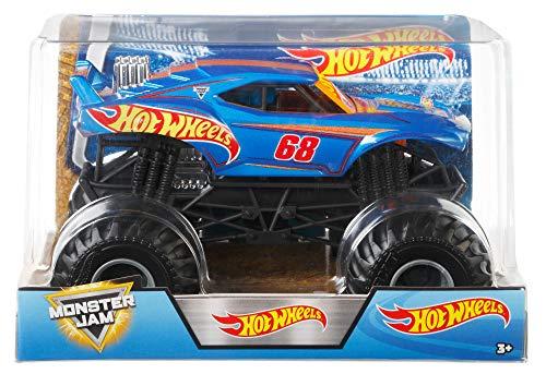 ホットウィール マテル ミニカー ホットウイール 【送料無料】Hot Wheels Monster Jam Truck, 1: 24 Scale Toyホットウィール マテル ミニカー ホットウイール