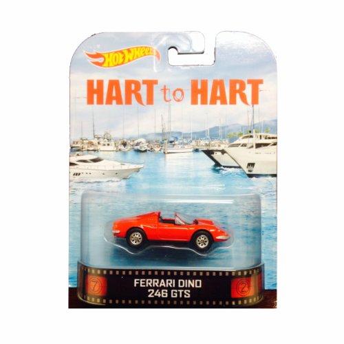 ホットウィール マテル ミニカー ホットウイール 【送料無料】Hot Wheels Hart to Hart Ferrari Dino 246 GTS Die-Cast Retro Entertainment Seriesホットウィール マテル ミニカー ホットウイール