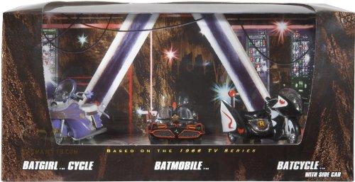 ホットウィール マテル ミニカー ホットウイール 【送料無料】SDCC Comic Con 2008 Hot Wheels Exclusive 3 Pack Batgirl Cycle Batmobile & Batcycleホットウィール マテル ミニカー ホットウイール