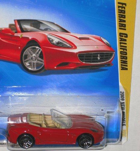 ホットウィール マテル ミニカー ホットウイール 【送料無料】Hot Wheels 2009 Ferrari California New Models 38/42 1:64 Scale Die Cast Collectible Carホットウィール マテル ミニカー ホットウイール
