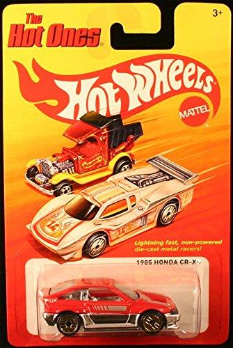 ホットウィール マテル ミニカー ホットウイール 【送料無料】Hot Wheels 1985 Honda CR-X (RED) The Hot Ones 2011 Release of The 80's Classic Series - 1:64 Scale Throw Back Die-Cast Vehicleホットウィール マテル ミニカー ホットウイール