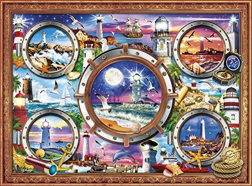 ジグソーパズル 海外製 アメリカ 【送料無料】Buffalo Games - from Sea to Shining Sea - 1000 Piece Jigsaw Puzzleジグソーパズル 海外製 アメリカ