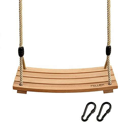無料ラッピングでプレゼントや贈り物にも。逆輸入並行輸入送料込 ジャングルジム ブランコ 屋内・屋外遊び 幼児 小学生 【送料無料】Pellor Wood Tree Swing Seat,Indoor Outdoor Rope Wooden Swing Set for Children Adult Kids 17.7x7.9x0.6 inchジャングルジム ブランコ 屋内・屋外遊び 幼児 小学生