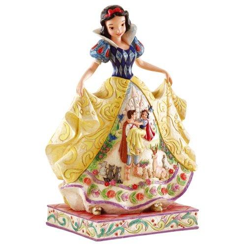 エネスコ Enesco 置物 インテリア ディズニー 海外モデル 【送料無料】Disney Traditions by Jim Shore 4007992 Snow White Fairy Tale Endings Figurine 9-3/4-Inchエネスコ Enesco 置物 インテリア ディズニー 海外モデル