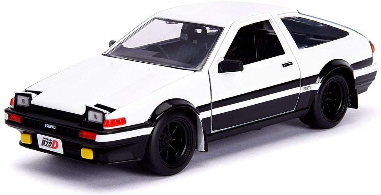 ジャダトイズ ミニカー ダイキャスト アメリカ 【送料無料】Initial D Toyota Trueno (AE86) with Takumi Die Cast Vehicleジャダトイズ ミニカー ダイキャスト アメリカ