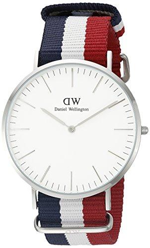 ダニエルウェリントン 腕時計 メンズ 0203DW Daniel Wellington Men's 0203DW Cambridge Stainless Steel Watch With Multi-Color Nylon Bandダニエルウェリントン 腕時計 メンズ 0203DW