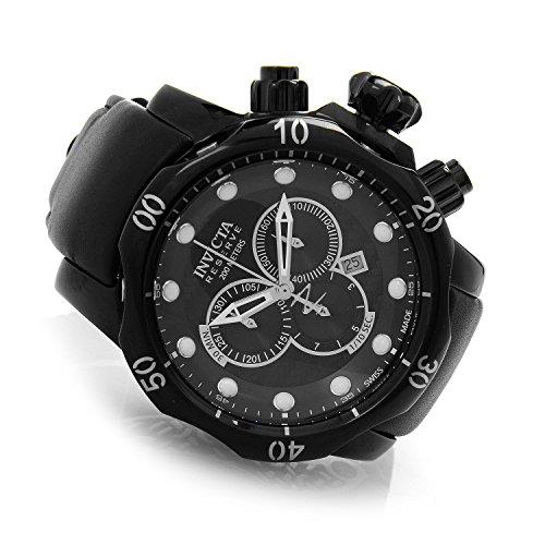 腕時計 インヴィクタ インビクタ ベノム メンズ 20222 【送料無料】Invicta Reserve 52mm Venom Swiss Made Quartz Chronograph Leather Strap Watch (20222)腕時計 インヴィクタ インビクタ ベノム メンズ 20222