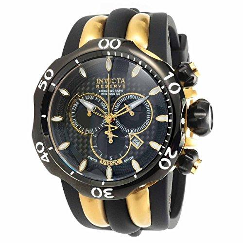 インヴィクタ インビクタ ベノム 腕時計 メンズ 13917 【送料無料】Invicta Venom Chronograph Black Carbon Fiber Dial Black Polyurethane Strap Mens Watch 13917インヴィクタ インビクタ ベノム 腕時計 メンズ 13917
