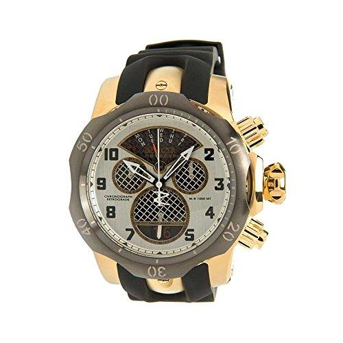 インヴィクタ インビクタ リザーブ 腕時計 メンズ 16311 【送料無料】Invicta Subaqua Chronograph Silver Dial Black Polyurethane Mens Watch 16311インヴィクタ インビクタ リザーブ 腕時計 メンズ 16311