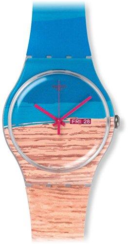 スウォッチ 腕時計 レディース SUOK706 Swatch SUOK706 Blue Pine Unisex Watchスウォッチ 腕時計 レディース SUOK706