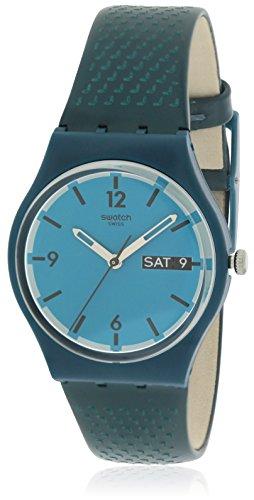 スウォッチ 腕時計 レディース GN719 Swatch Women's Originals GN719 Blue Leather Swiss Quartz Watchスウォッチ 腕時計 レディース GN719