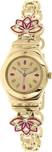 スウォッチ 腕時計 レディース YSG140G Swatch Women's Irony YSG140G Gold Stainless-Steel Swiss Quartz Watchスウォッチ 腕時計 レディース YSG140G