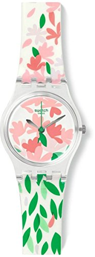 スウォッチ 腕時計 レディース LK355 Swatch Jackaranda Floral Dial Silicone Ladies Watch LK355スウォッチ 腕時計 レディース LK355