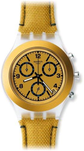 スウォッチ 腕時計 メンズ Mustardy Swatch Mustardy Chronograph Plastic Mens Watch SVCK4069スウォッチ 腕時計 メンズ Mustardy