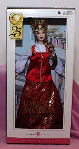 バービー バービー人形 ドールオブザワールド ドールズオブザワールド ワールドシリーズ G5861 Mattel Year 2004 Barbie 25th Anniversary Pink Label Collector Edition Doバービー バービー人形 ドールオブザワールド ドールズオブザワールド ワールドシリーズ G5861