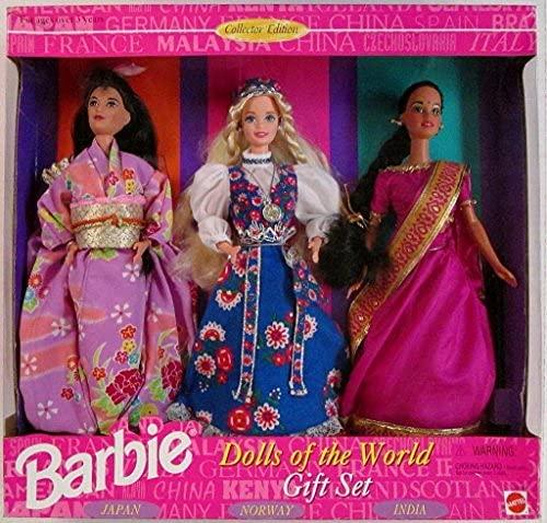 バービー バービー人形 ドールオブザワールド ドールズオブザワールド ワールドシリーズ 15283 BARBIE DOLLS OF THE WORLD COLLECTION GIFT SET - 3 DOLLS 1995バービー バービー人形 ドールオブザワールド ドールズオブザワールド ワールドシリーズ 15283