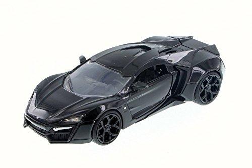 ジャダトイズ ミニカー ダイキャスト アメリカ 【送料無料】Lykan HyperSport, Black Gloss - JADA 98028 - 1/24 Scale Diecast Model Toy Carジャダトイズ ミニカー ダイキャスト アメリカ
