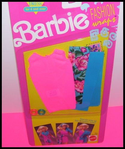 無料ラッピングでプレゼントや贈り物にも 逆輸入並行輸入送料込 バービー 新生活 バービー人形 送料無料 Barbie Doll Clothing 価格交渉OK送料無料 Setバービー Wraps Scarf Fashion
