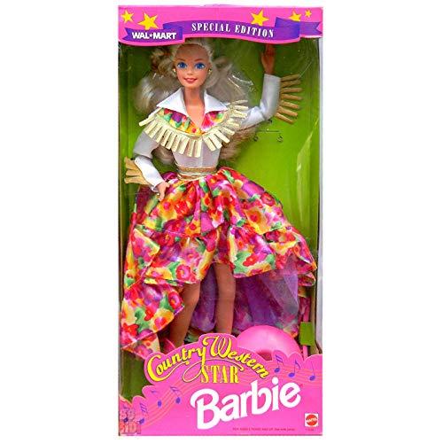 無料ラッピングでプレゼントや贈り物にも 税込 逆輸入並行輸入送料込 バービー バービー人形 送料無料 ショッピング Barbie 11646 Western Star Dollバービー Country 1994 Walmart
