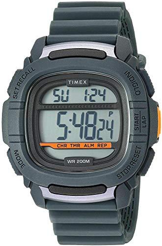 腕時計 タイメックス メンズ 【送料無料】Timex TW5M26700 Men's BST.47 Command Shock Resistant Chronograph Timer Digital Watch腕時計 タイメックス メンズ