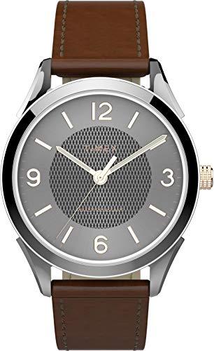 腕時計 タイメックス メンズ 【送料無料】Timex Men's Briarwood 40 mm Leather Strap Watch TW2T66800腕時計 タイメックス メンズ
