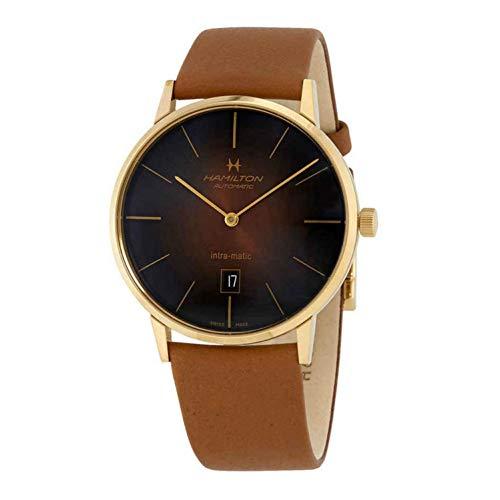 腕時計 ハミルトン メンズ 【送料無料】Hamilton Jazzmaster Intra-Matic Automatic Men's Watch H38735501腕時計 ハミルトン メンズ