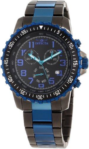 最安 腕時計 インヴィクタ インビクタ メンズ 【送料無料】Invicta Men's 11371 Specialty Pilot Design Chronograph Black Dial Watch腕時計 インヴィクタ インビクタ メンズ, barret afa1aa1b