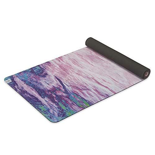 ヨガマット フィットネス 【送料無料】Gaiam Soft-Grip Yoga Mat - Microfiber Towel Top with Rubber Backing Dual-Sided Yoga & Exercise Mat for Hot Yoga, Sunsetヨガマット フィットネス