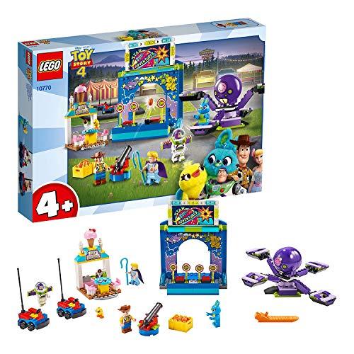 レゴ 【送料無料】LEGO 10770 4+ Toy Story 4 Buzz and Woody's Carnival Mania with Buzz Lightyear and Woody Minifiguresレゴ
