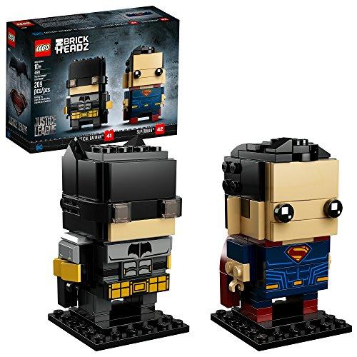 無料ラッピングでプレゼントや贈り物にも 逆輸入並行輸入送料込 レゴ 送料無料 人気ブランド多数対象 LEGO BrickHeadz Tactical Batman and Building Amazon 209 41610 Piece Superman Kit 期間限定特価品 Exclusive
