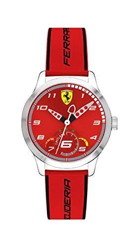 腕時計 フェラーリ メンズ 【送料無料】0860004 Ferrari Pitlane Mens Analog Red Casual Quartz Ferrari腕時計 フェラーリ メンズ