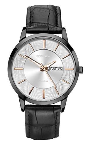 腕時計 セコンダ イギリス メンズ 【送料無料】Sekonda Mens Classic Analogue Quartz Watch with Silver Dial 1815腕時計 セコンダ イギリス メンズ