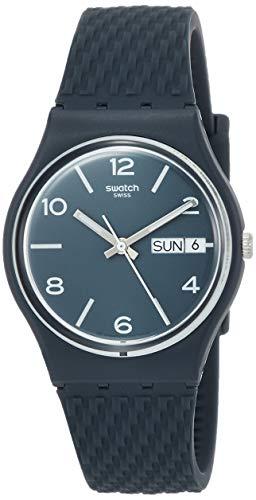 腕時計 スウォッチ メンズ 夏の腕時計特集 【送料無料】Swatch Men's Quartz Watch with Silicone Strap, Blue, 19 (Model: GN725)腕時計 スウォッチ メンズ 夏の腕時計特集