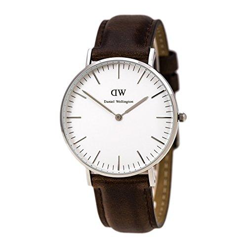 ダニエルウェリントン 腕時計 レディース 0611DW Daniel Wellington Women's 0611DW Bristol Stainless Steel Watch with Leather Bandダニエルウェリントン 腕時計 レディース 0611DW