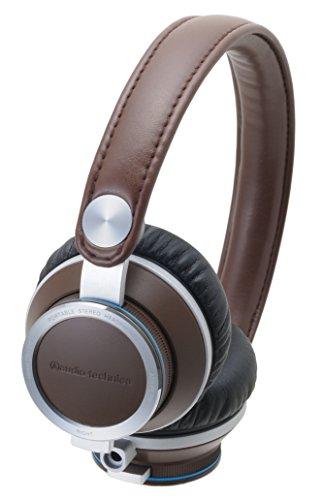 海外輸入ヘッドホン ヘッドフォン イヤホン 海外 輸入 ATHRE700 BW Audio Technica ATHRE700 BW On-Ear Headphones, Brown海外輸入ヘッドホン ヘッドフォン イヤホン 海外 輸入 ATHRE700 BW