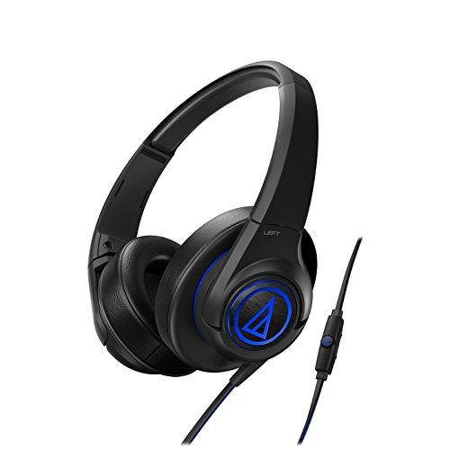 海外輸入ヘッドホン ヘッドフォン イヤホン 海外 輸入 ath-ax5isbk Audio-Technica SonicFuel Over-Ear Headphones for Smartphones, Black海外輸入ヘッドホン ヘッドフォン イヤホン 海外 輸入 ath-ax5isbk
