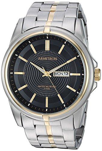 腕時計 アーミトロン メンズ 【送料無料】Armitron Men's 20/5281BKTT Day/Date Function Two-Tone Bracelet Watch腕時計 アーミトロン メンズ