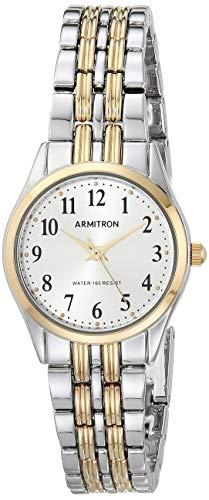 新着商品 腕時計 アーミトロン レディース 【送料無料】Armitron Women's 75/5304SVTT Easy To Read Dial Two-Tone Bracelet Watch腕時計 アーミトロン レディース, イマバリシ 969e3351