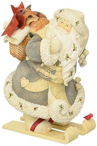 """大注目 エネスコ Enesco 置物 of インテリア 海外モデル アメリカ【送料無料【送料無料】Enesco】Enesco Department Stone 56 Heart of Christmas """"Santa with Fox"""" Stone Resin Figurine, 8.07""""エネスコ Enesco 置物 インテリア 海外モデル アメリカ, BEAMS/ビームス:fa5823bd --- feiertage-api.de"""