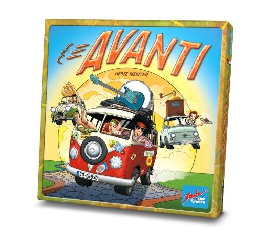 無料ラッピングでプレゼントや贈り物にも 逆輸入並行輸入送料込 ボードゲーム 英語 アメリカ 本物 海外ゲーム Zoch Avanti Board 送料無料 Gameボードゲーム 新登場 Verlag