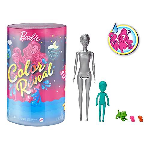 バービー バービー人形 日本未発売 プレイセット アクセサリ 【送料無料】Barbie Color Reveal Slumber Party Fun Dolls and Accessoriesバービー バービー人形 日本未発売 プレイセット アクセサリ
