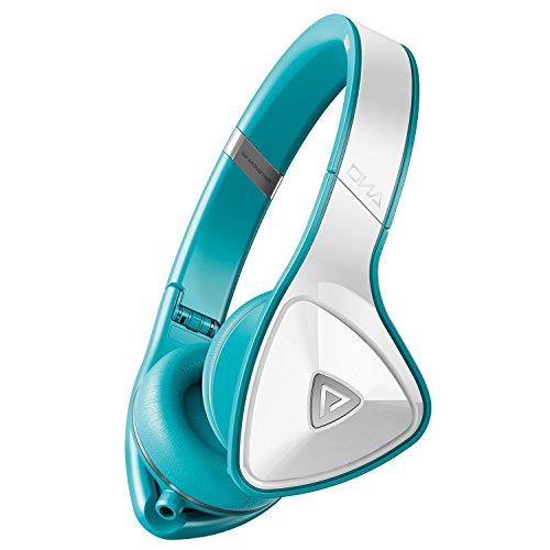海外輸入ヘッドホン ヘッドフォン イヤホン 海外 輸入 MH DNA ON WHT CA WW Monster DNA On-Ear Headphones (White/Teal)海外輸入ヘッドホン ヘッドフォン イヤホン 海外 輸入 MH DNA ON WHT CA WW