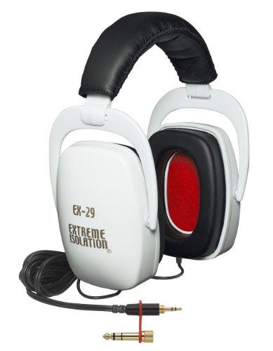 ノイズキャンセルヘッドホン ヘッドフォン イヤホン 海外 輸入 EX-29W Direct Sound EX29 Extreme Isolation Professional Headphones - Whiteノイズキャンセルヘッドホン ヘッドフォン イヤホン 海外 輸入 EX-29W