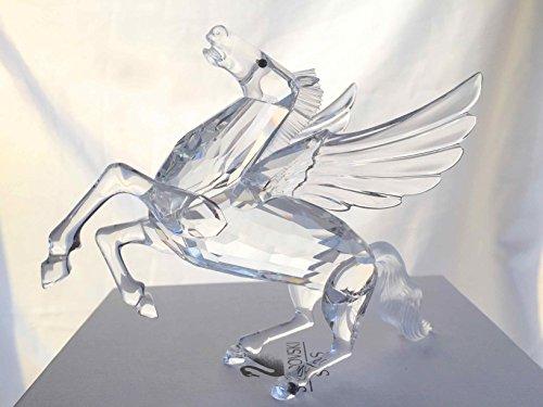 無料ラッピングでプレゼントや贈り物にも 逆輸入並行輸入送料込 スワロフスキー クリスタル 置物 SWAROVSKI インテリア OUTLET SALE 送料無料 #216327 Annual Editionスワロフスキー Pegasus SCS Limited 営業 1998 Swarovski