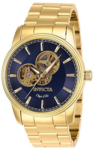 【送料無料】Invicta インヴィクタ D Automatic Art インビクタ 27562腕時計 メンズ インビクタ 腕時計 Blue Watch インヴィクタ メンズ Objet Dial Men's