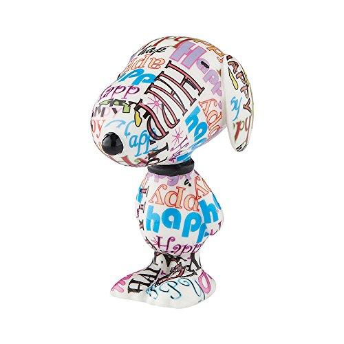 国内在庫 無料ラッピングでプレゼントや贈り物にも 逆輸入並行輸入送料込 デパートメント56 Department 56 置物 インテリア Happy Peanuts Hound Figurine 海外モデル 2.8